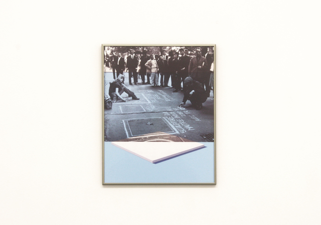 , 'White painting / Daan in Paris,' 2012, Galerie Micheline Szwajcer
