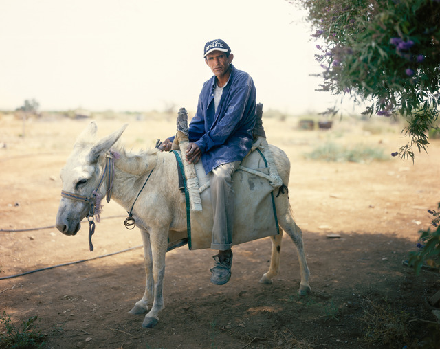 Yaakov Israel, 'The man on the White Donkey', 2006, Photography, Archival inkjet print on hahnemuhle fine art paper, GALLERY FIFTY ONE