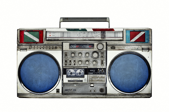 , 'Boombox 33,' 2010, Joseph Gross Gallery