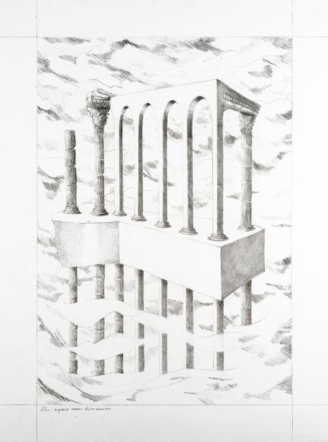 , 'Un espace sans dimension,' 2019, Isabelle Gounod