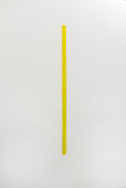 , 'yellow lightning,' 2017, Galerie Anke Schmidt