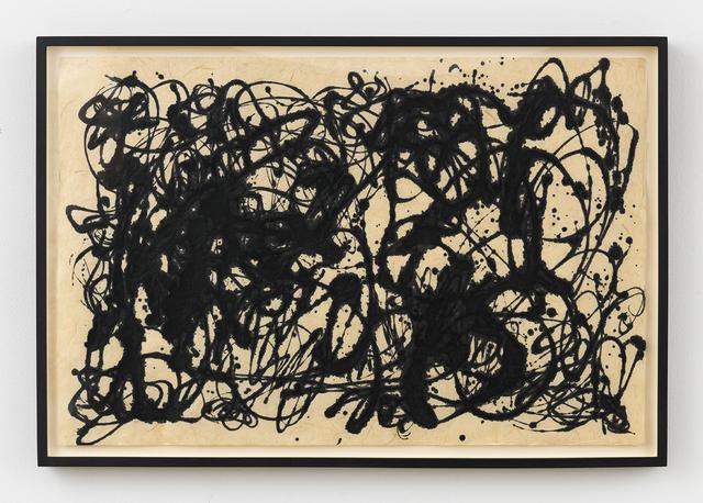 , 'Not Pollock,' ca. 1983, Johannes Vogt Gallery