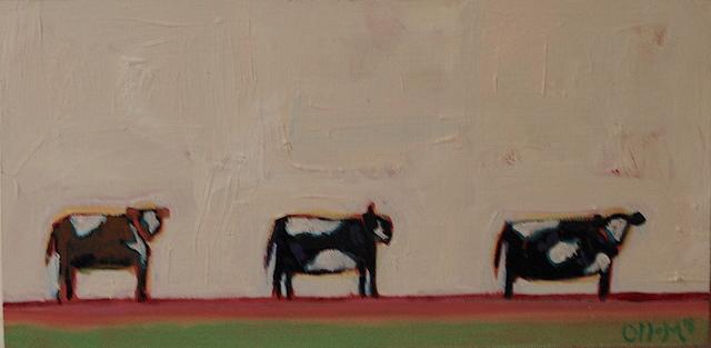 , 'Three Cows,' 2018, Tim Collom Gallery