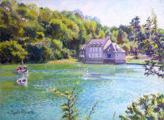 Hugues Claude Pissarro, 'La Maison de vacances de Jean Guillemette (En Bretagne)', ca. 1999, Guarisco Gallery
