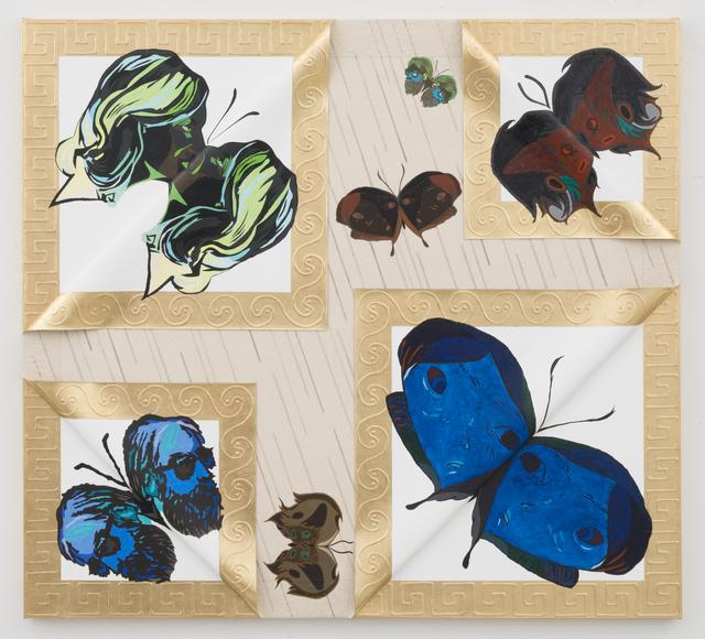 , 'Unique Janus Butterflies 7,' 2015, David Lewis
