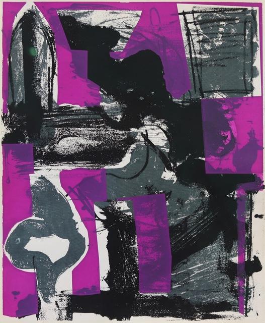 Grace Hartigan, 'Salute: On a Tar Roof', 1961, Aaron Galleries