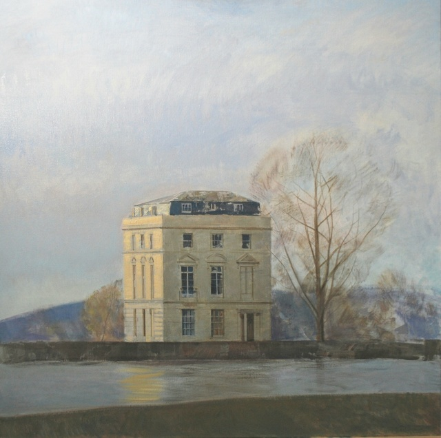 Àlex Prunés, 'Casa a l'hivern', 2019, Anquins Galeria