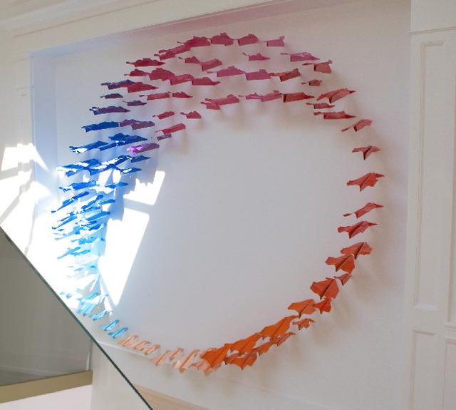 , 'planes installation,' 2016, Galleria Ca' d'Oro