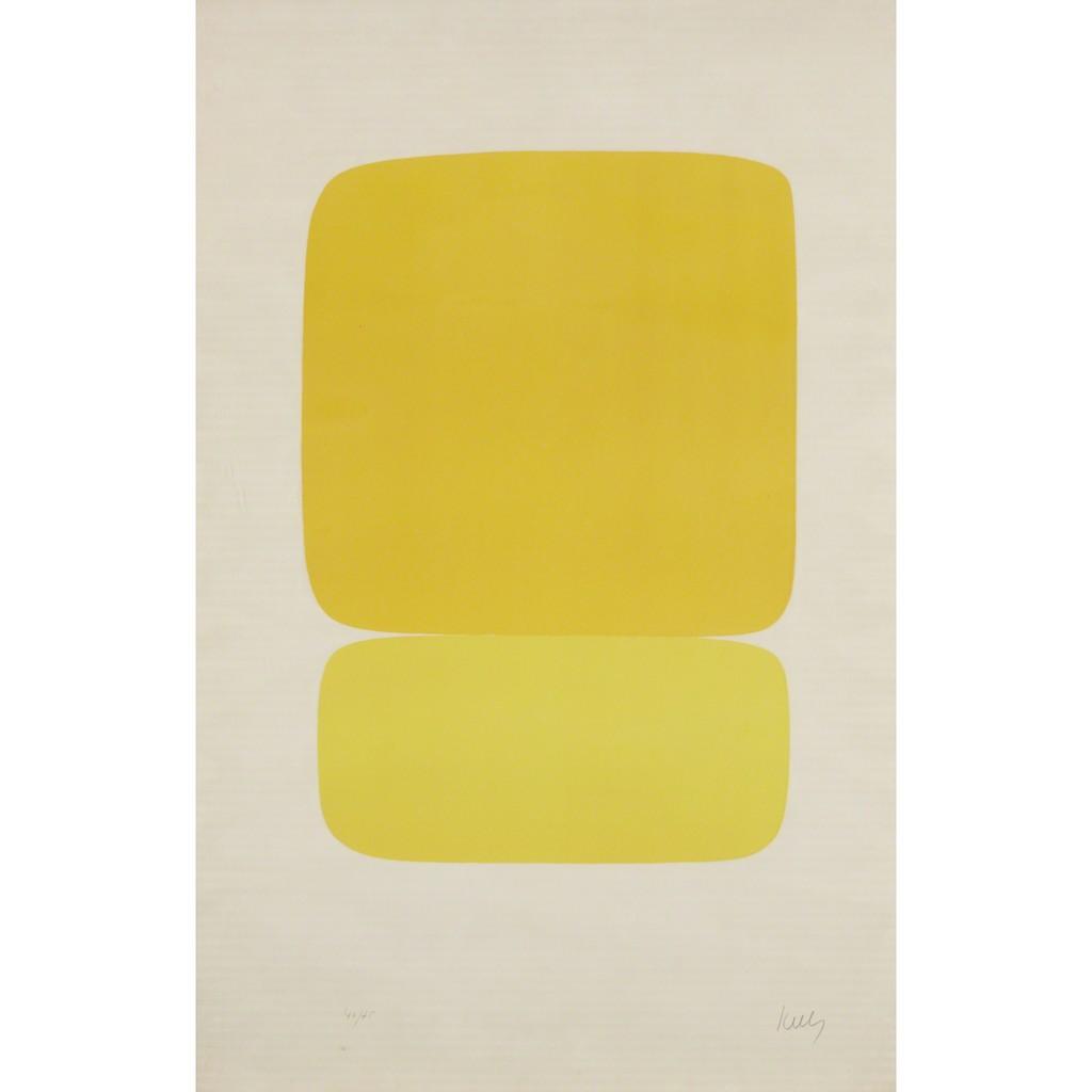 Ellsworth Kelly   Yellow Over Yellow (1964-65)   Artsy