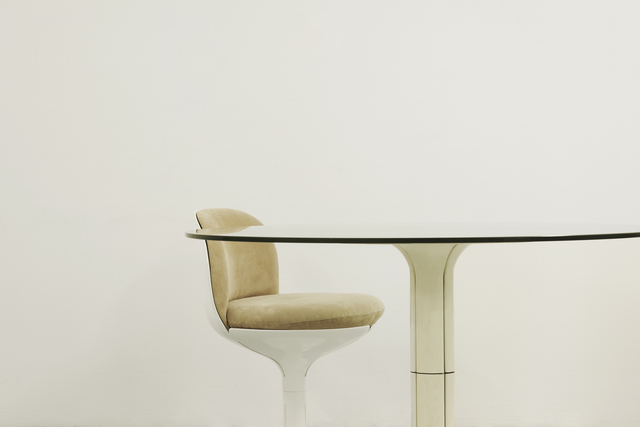 , 'Chair & Table,' Chair: 1972-Table: 1968, Jousse Entreprise