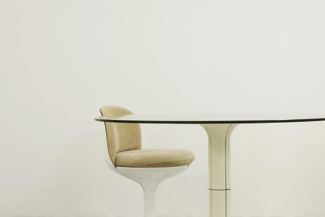 Pierre Paulin (1927-2009), 'Chair & Table', Chair: 1972-Table: 1968, Jousse Entreprise