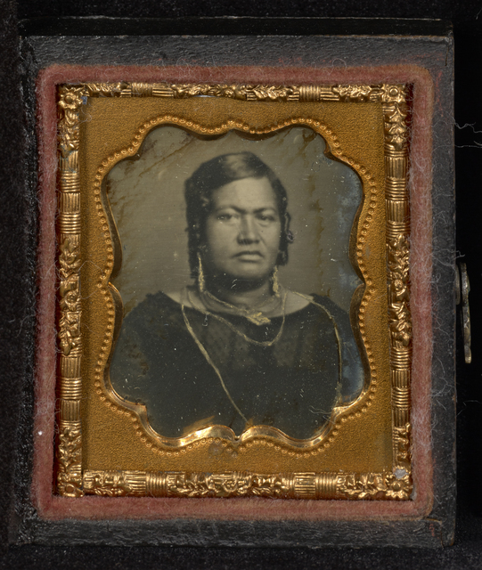 , 'Portrait of Queen Kalama of Hawaii,' 1853-1854, J. Paul Getty Museum