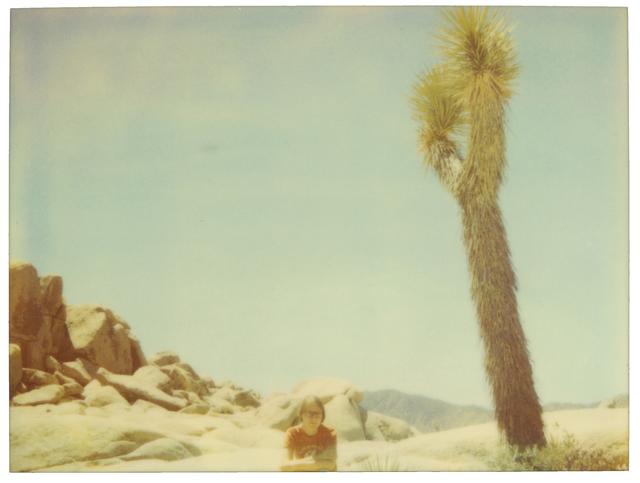 Stefanie Schneider, 'White Tank - Contemporary, 21st Century, Polaroid, Color, Women, Landscape, Desert', 1999, Photography, Digital C-Print, based on an expired Polaroid, not mounted, Instantdreams