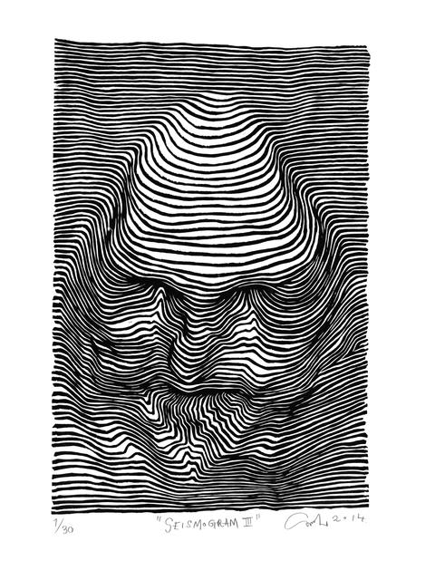 , 'Seismogram III,' 2014, V1 Gallery
