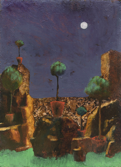 , 'Garden at Night,' 2017, Arco Gallery
