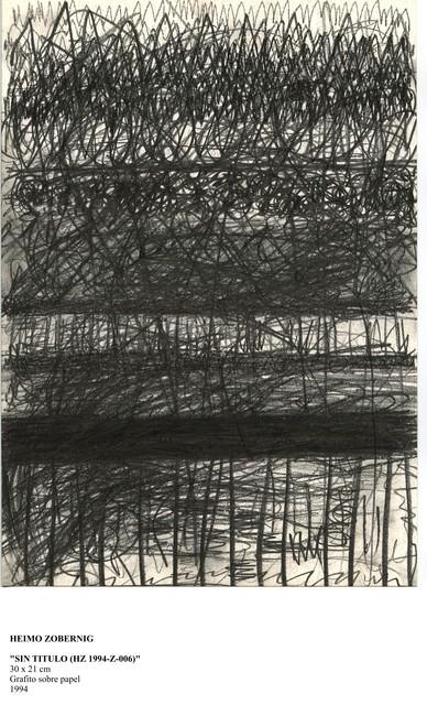 , 'Sin título (HZ 1994 – Z – 006),' 1996, Galería Juana de Aizpuru