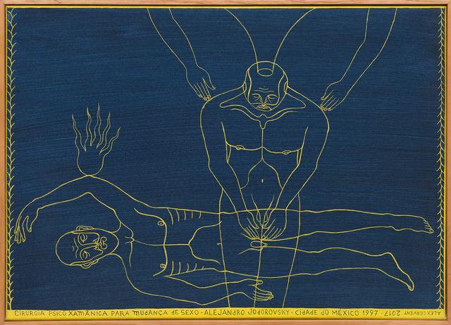 , 'A cirurgia [The surgery],' 2017, Casa Triângulo