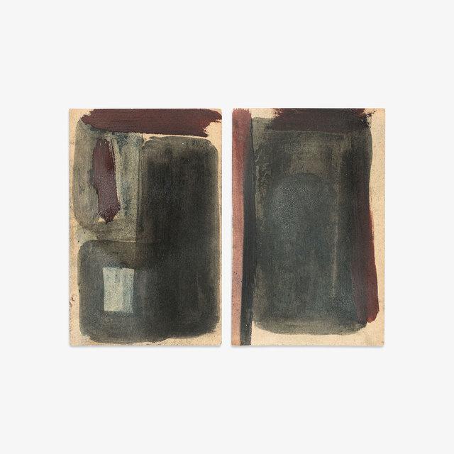 , 'Untitled (23, 24),' 2018, Tappan