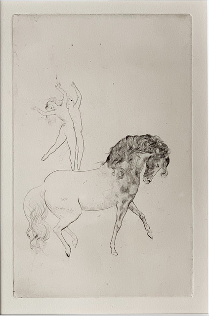 Pablo Picasso, 'Au Cirque', 1905, Fairhead Fine Art Limited