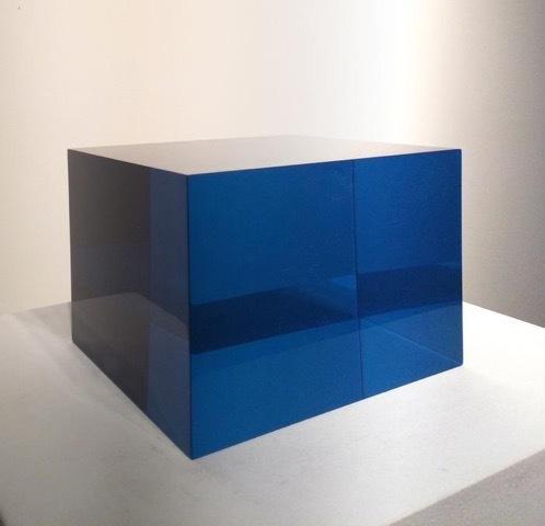 , '10/21/14 (BLUE BOX),' 2014, Peter Blake Gallery