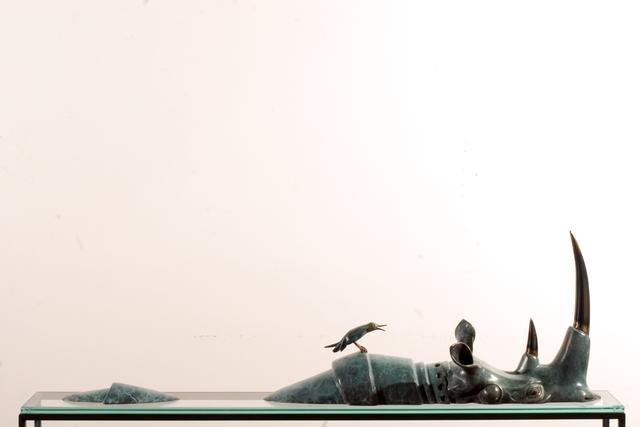 , 'Swimming Rhino,' ca. 2014, Opera Gallery