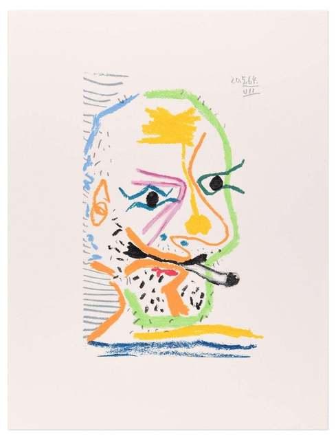 Pablo Picasso, 'Le goût du Bonheur - 20.5.64 VII - After P. Picasso', 1998, Wallector