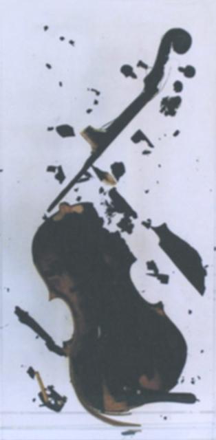 , 'Untitled (burned violin),' 1979, RUDOLF BUDJA GALLERY