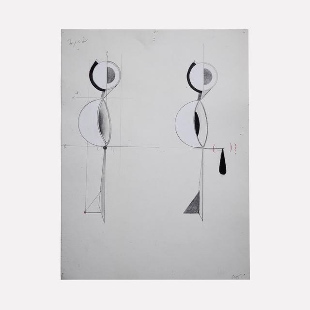 , 'Figure 2,' 2015, Helwaser Gallery