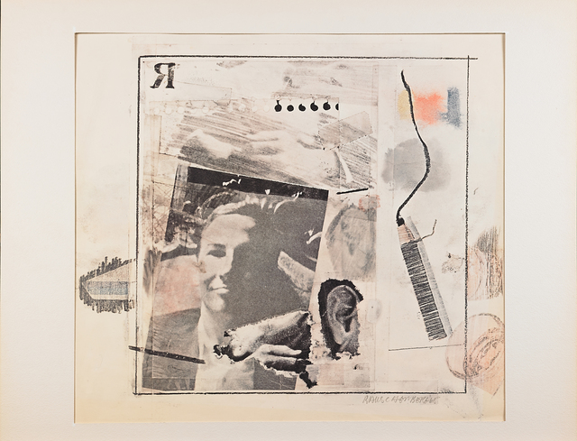 Robert Rauschenberg, 'Self Portrait (for Dwan poster)', 1965, Print, Offset lithograph in colors, Rago/Wright