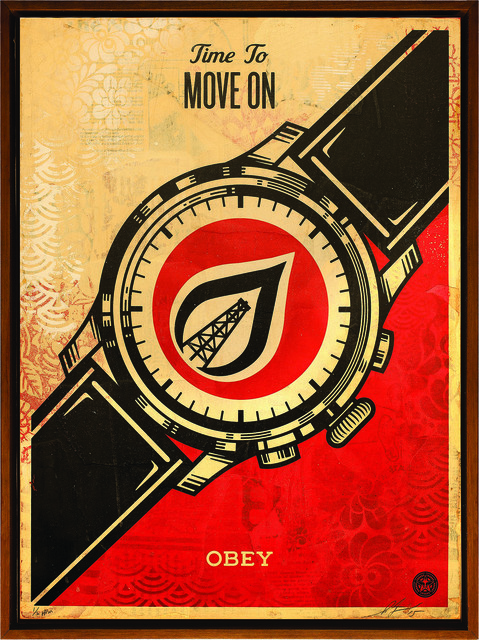 Shepard Fairey (OBEY), 'Time To Move On ', 2015, Underdogs Gallery