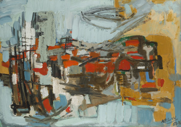 Untitled (abstract composition)