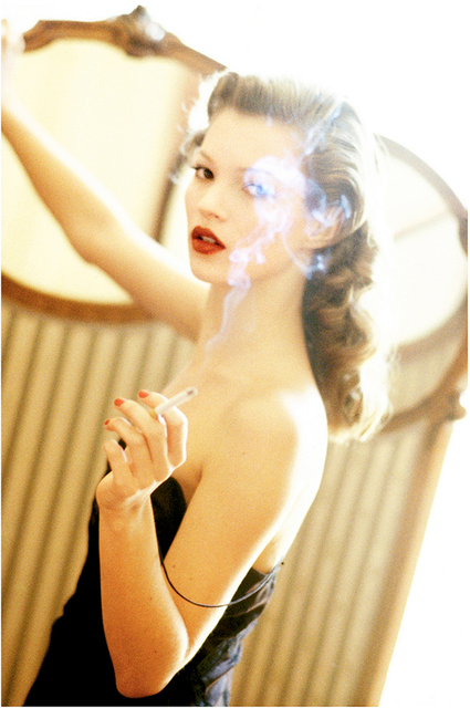 Arthur Elgort, 'Kate Moss at the Hotel Raphael, VOGUE Italia, Paris', 1993, Staley-Wise Gallery