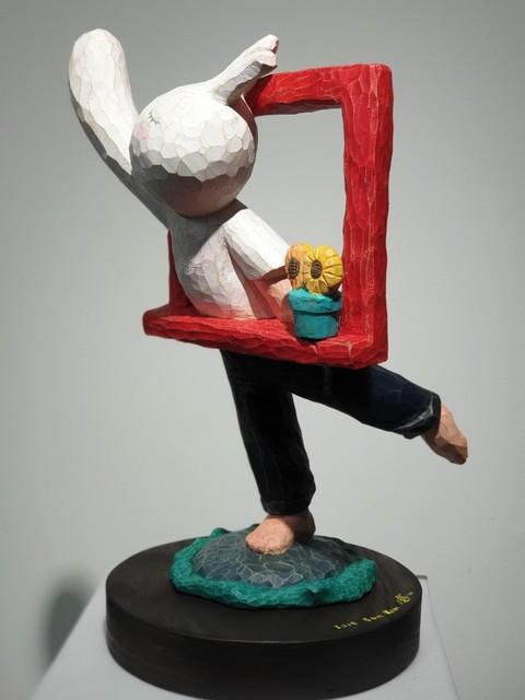 Sun Kim, 'Red Window Series Promise the Moon', 2019, ART MORA