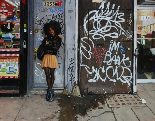 Vincent Giarrano, 'Jade with Graffiti', Gallery Henoch