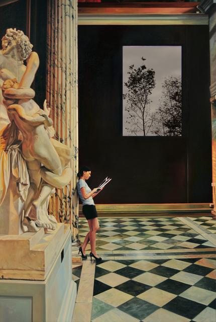 , 'Tazan of Louvre museum,' 2012, Gallery Ihn
