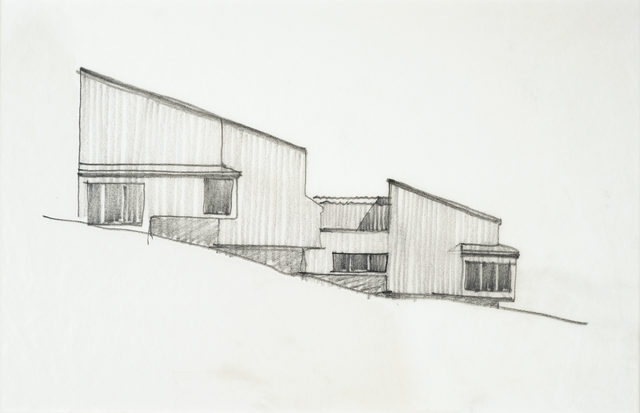 MLTW (Moore, Lyndon, Turnbull, and Whitaker), 'Sea Ranch Condominium, Sea Ranch, California sketch', ca. 1964, San Francisco Museum of Modern Art (SFMOMA)