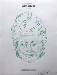Death Mask for Blanche Devereaux