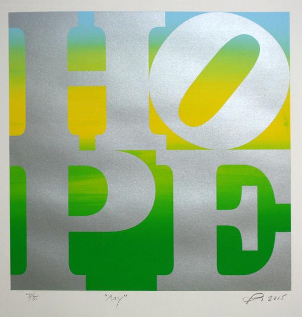 Robert Indiana, 'HOPE', ca. May 2015, Oblong Contemporary