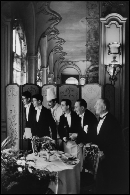 , 'Waiters and chef, Hôtel Ritz. Paris, France. ,' 1969, Magnum Photos
