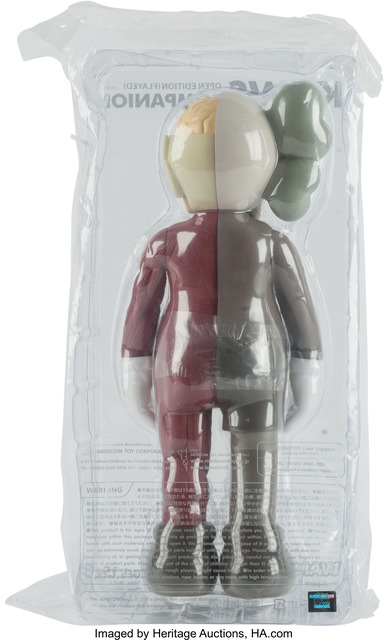 KAWS, 'Dissected Companion (Brown), (Open Edition)', 2016, Other, Painted cast vinyl, Heritage Auctions
