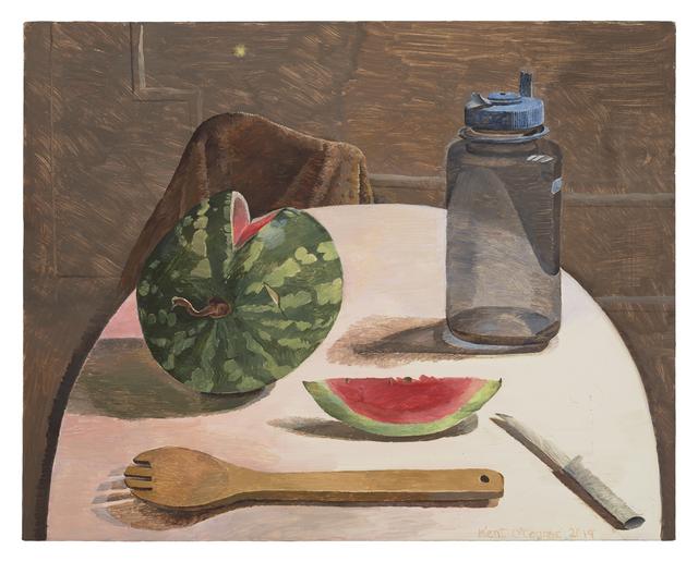 , 'Round Table with Watermelon,' 2019, Diane Rosenstein