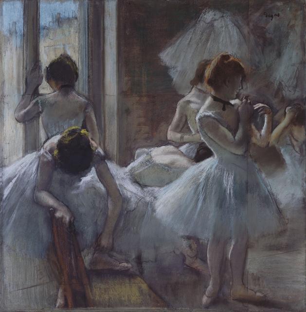 Edgar Degas Danseuses En Repos Dancers At Rest 1884 1885 Artsy