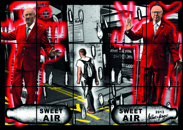 Gilbert & George, 'SWEET AIR SWEET AIR,' 2013, White Cube