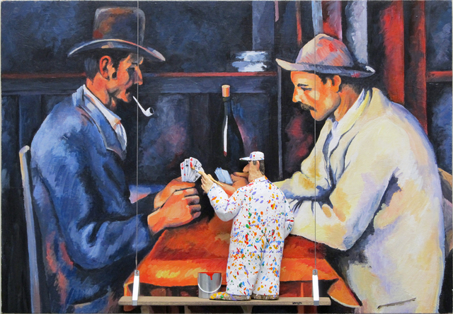 Stephen Hansen, 'The Card Players (Cezanne)', 2015, Zenith Gallery