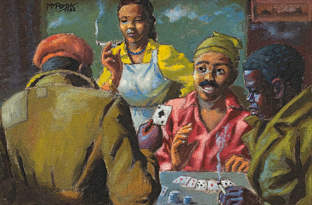 George Pemba, 'The Card Players', 1952, Strauss & Co
