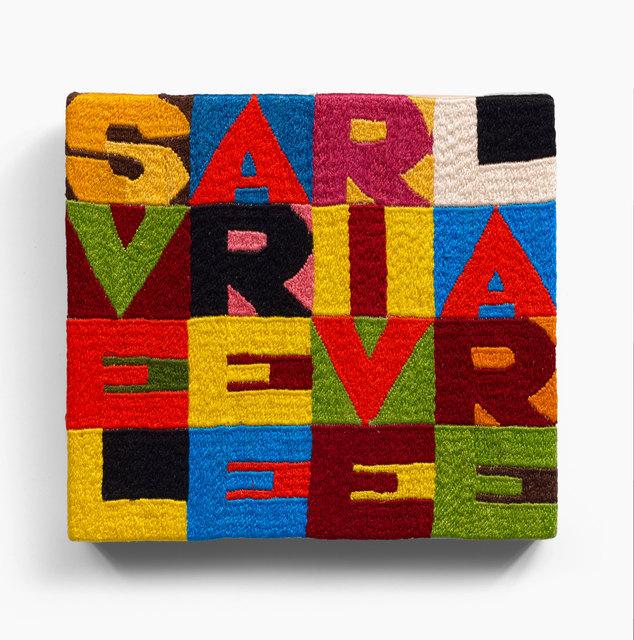 , 'svelare e rivelare,' ca. 1987, Galerie Philippe David