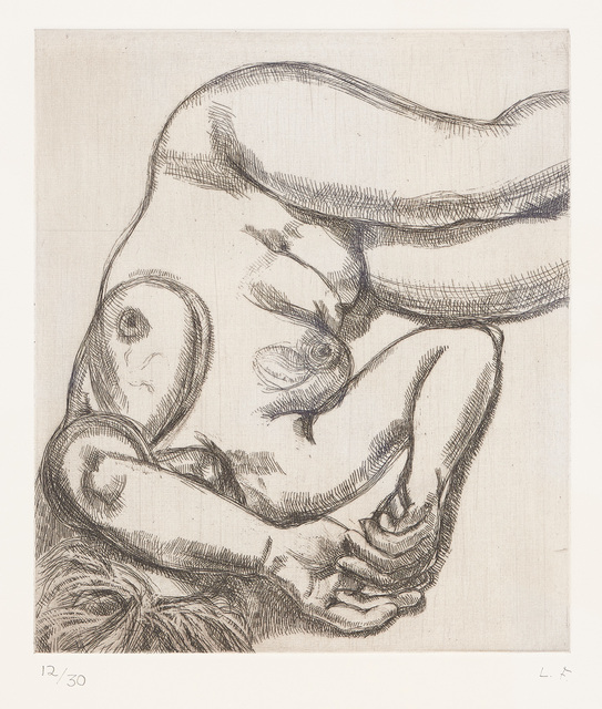 Lucian Freud, 'Woman on a Bed', 1991-1992, Phillips