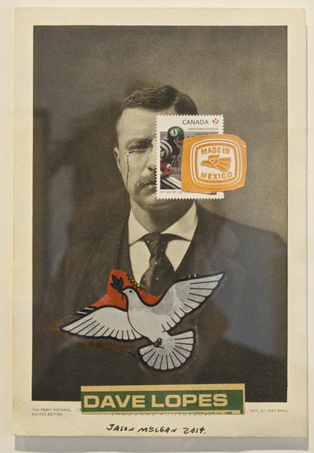 Jason McLean, 'President Dave Lopez', 2014, Wilding Cran Gallery