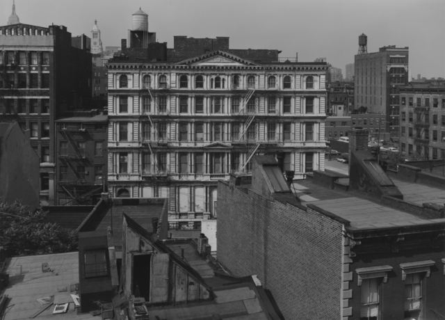 Bevan Davies, 'Bond Street, Facing North, New York', 1976, Photography, Vintage ferrotyped gelatin silver print, Joseph Bellows Gallery