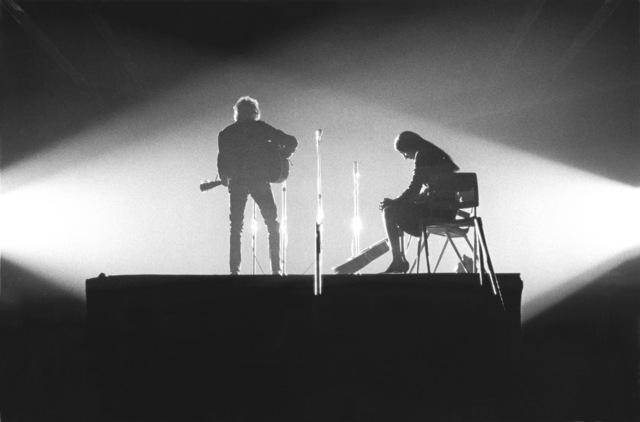 , 'Bob Dylan & Joan Baez in Crossed Lights, New Haven, CT,' 1965, TASCHEN